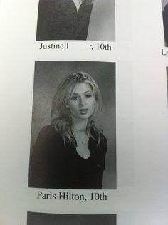 Paris Hilton, 10th grade