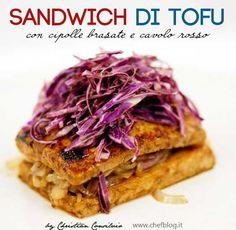 sandwich di tofu
