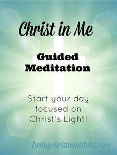 Start your day focused on Christ's Light. This guided meditation will help you strengthen your connection to and relationship with Jesus Christ.