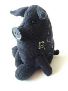 DIY Pig Stuffed animal made from a sock