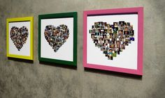 Design and proof custom collage canvases on-line with an exclusive App using Giclée canvas prints with Light-fast inks White Picture Frames, Recycled Materials, Recycling, Collage, Canvas Prints, Shapes, Canvases, Pictures, App