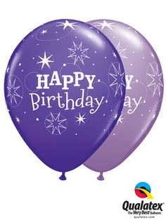 For the trendy girl birthday, think of these star-printed balloons! #qualatex #balloon #coloroftheyear