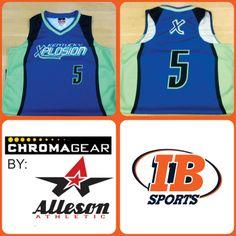 Alleson Chroma gear custom uniforms for Xplosion Softball Club.  #AllesonChromaGear #CustomApparel #CustomJersey #CustomSportswear #CustomerSportswear #Softball #SoftballJeresey #Uniforms