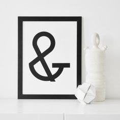 """na.hili PRINT """"Geometrical Letters"""" ABC ... A3 Poster  & Poster, Geometrical Letters by na.hili"""