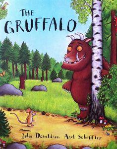 fonts on children's books #thegruffalo #WorldBookDay  via @richardovery