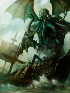 [Monster of the Deep, God of the Ages Old]