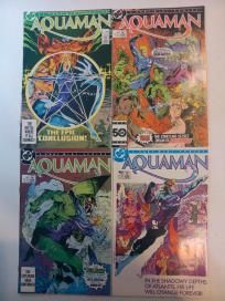 COMPLETE 4 ISSUE AQUAMAN MINI SERIES (DC COMICS 1986) #1,2,3,4 OF 4 *FREE SHIPPING*