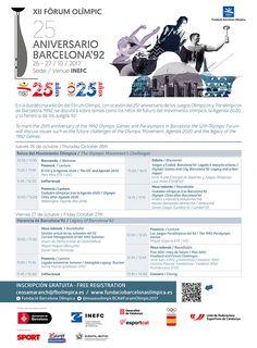 XII Edición del Fórum Olímpico organizado por la Fundación Barcelona Olímpica