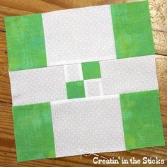 Creatin' in the Sticks: 30 Quilt Blocks in 30 Days - Block 30