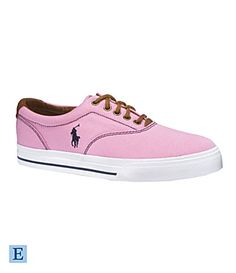 Love these pink Ralph Lauren shoes