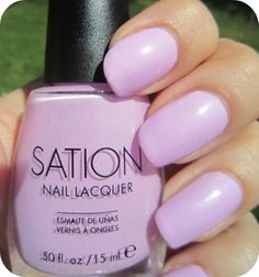 Concrete and Nail Polish: Sation Just Lilac That