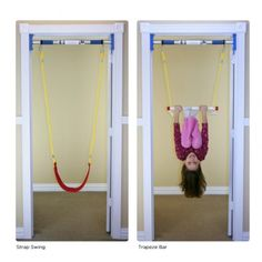 Doorway Swing Support Bar | Support Bar for Hanging Indoor Therapy Swings