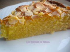 Gâteau fondant aux amandes - Les Délices de Mimm