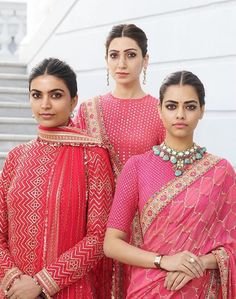 Sabyasachi just launched his 2020 new bridal collection. Sabyasachi Sultana Wedding Lehengas come in gorgeous new shades and you've got to see the dupatta! Indian Wedding Wear, Indian Wear, Indian Style, Bollywood Saree, Bollywood Fashion, Indian Dresses, Indian Outfits, Indian Clothes, Sabyasachi Suits