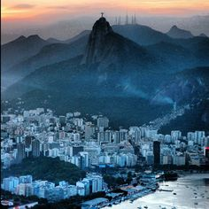 Latin America Impressions - Jesus @ Sunset - Rio