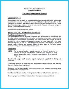 awesome delivering your credentials effectively on auto mechanic resume check more at http. Resume Example. Resume CV Cover Letter