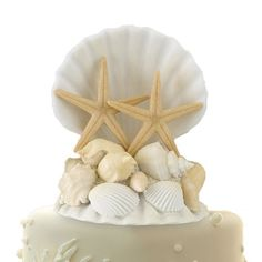 Lillian Rose CT440 Coastal Seashell Cake Top, 5-Inch Lillian Rose http://www.amazon.com/dp/B006QAQQ8S/ref=cm_sw_r_pi_dp_.pdUtb14Z1Q7Y553