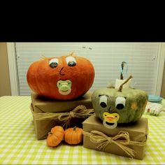 For a fall baby shower