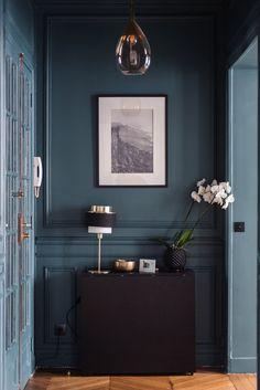 Home Interior Blue .Home Interior Blue Foyer Decorating, Decorating Small Spaces, Kitchen Decorating, Luxury Homes Interior, Home Interior Design, Interior Livingroom, Unique Home Decor, Cheap Home Decor, Decoration Hall