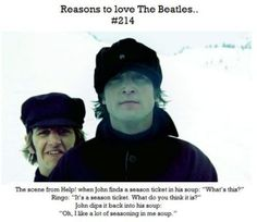 Reason to love the Beatles #214