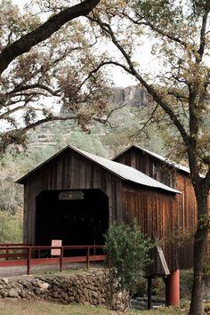 Honey Run Covered Bridge in Chico, California | Image by Briana Morrison