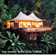 Thailand : I like the Four Seasons Hotel, because they add a bit of comfort and luxury for those interested in that during their travels.