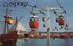 Une cartepostale de EXPO 67 MONTRÉAL