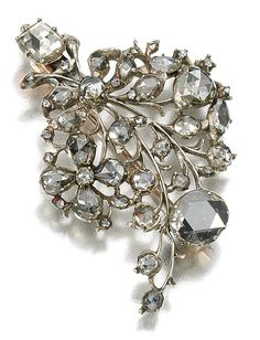 Active 4.80cts Rose Cut Diamond Pearl Antique Victorian Look Silver Hair Brooch Pin Big Clearance Sale Jewelry & Watches