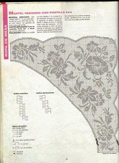 Kira scheme crochet: Scheme crochet no. Annie's Crochet, Crochet Scarves, Crochet Shawl, Crochet Stitches, Crochet Hooks, Filet Crochet Charts, Crochet Borders, Crochet Patterns, Counted Cross Stitch Patterns