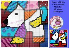 Modern Cross Stitch, Cross Stitch Patterns, Cross Stitch Pictures, Knitting Charts, Plastic Canvas Patterns, Betty Boop, Perler Beads, Cross Stitching, Beading Patterns