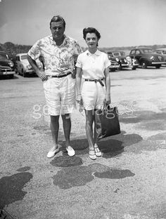 """John Sims """"Shipwreck"""" Kelly (1910-1986) The ultimate stud, Kelly was a star athlete in college, played profootball and ended up co-owning the Brooklyn Dodgers. Married two of the most beautiful heiresses and socialites in the world, Brenda Frazier (pictured here Sothhampton 1940s) and Catharine Manning. Became an undercover FBI agent and investment banker and one of the best amateur golfers in the world. Frequently found at El Morocco and the Stork Club."""