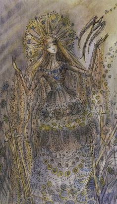 6 d'épées - Tarot Paulina par Paulina Cassidy