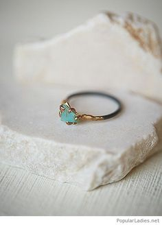 Amazing opal ring design