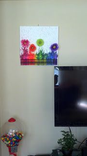 Flowers Creations: Crayon Art Tutorial