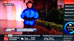 Jim Cantore Gets College Kid in the Groin #likeaboss