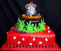 Eleggua cake
