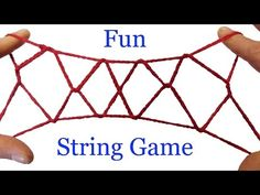 The Japanese call these string tricks Ayatori. Instructions for how to make the Jacob's Ladder cat's cradle string figure out of string in this easy step by . Activity Games, Activities For Kids, Amusement Enfants, Fun Crafts, Crafts For Kids, String Art Tutorials, Jacob's Ladder, Finger, Sunday School