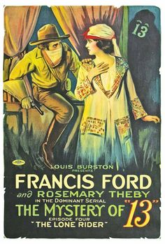 Silent Era Movie Posters, 1910s-1920s -