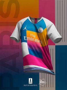 4 Unique Paris Saint-Germain 2019 Concept Kits By Rupertgraphic - Footy  Headlines Football Kits a62709f46ed