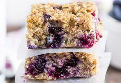 Recette facile de petites barres santé aux bleuets et quinoa!