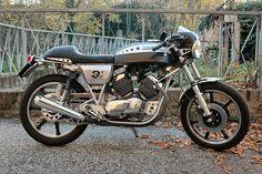Cars And Motorcycles, Yamaha, Honda, Bike, Vehicles, Italian Cafe, Cafe Racers, 3, Motorbikes