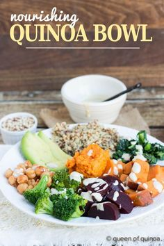 Packing your meal with nutrient rich superfoods couldn't be simpler. This nourishing quinoa bowl is loaded with healthy ingredients that energize your body!