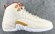 "EffortlesslyFly.com - Kicks x Clothes x Photos x FLY SH*T!: Air Jordan 12 GG ""White/Red"" CNY"