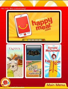 ell McDonald's: Shut Down Happymeal.com!