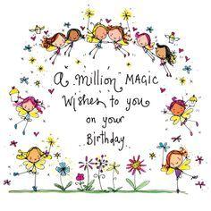 EVEN A TRILLION BILLION ..... WISHES ENOUGH TO LAST YOU A LIFETIME ,,,,, HAPPY BIRTHDAY ... ooooo :c ) Más