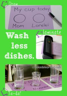 Cleaning Tips and Tricks: Wash Less Dishes