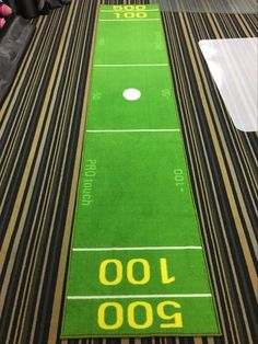 Custom printed golf mats are perfect for the office to always keep your putting game on point! Made out of ultra high quality rubber mat with a polyester slip resistant surface 🏌 Golf Mats, Golf Chipping, Golf Putting, Rubber Mat, Golf Irons, Print Logo, Golf Outfit, Making Out, Vancouver