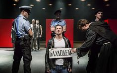 Measure for Measure, Cheek by Jowl, Barbican: 'like a punch to the guts' - Telegraph
