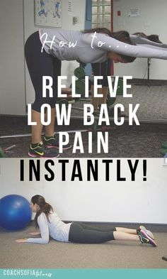 The ultimate 5 exercises that will help you relieve low back pain instantly. Less is always more. These are the exercises that helped me through recovery of piriformis syndrome and sciatica pain. | low back pain| piriformis syndrome| disc herniation relie