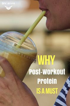 3 Reasons Why Fitness Experts Recommend Post-Workout Protein via @DIYActiveHQ #protein #nutrition #muscle